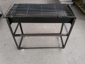 Charcoal Grill Disassembly Stainless Steel Grill Disassembling Barbecue Pits Barbecue Pits Stainless Steel Grill