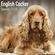 English Cocker Spaniel Calendar 2018
