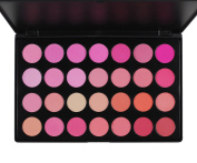 Frola cosmetics - Professional 28 Colours Blush Blusher Powder Makeup Palette by Frola Cosmetics