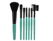 Yeah67886 7Pcs Make up Brush Set Foundation Powder Eyeshadow Wood Brush