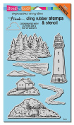 Stampendous Dies-Build A Lighthouse