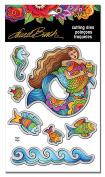 Stampendous Laurel Burch Dies-Mermaid Fish
