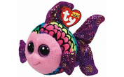 TY Beanie Boos 15cm Flippy Purple Fish, Perfect Plush!