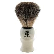 Shaving Brush Royal VP - with genuine, badger hair - ivory handle
