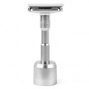 Quality Adjustable Double Edge Classic Safety Razor with Razor Stand, 1 Razor & 1 Stand