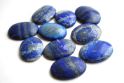 Reiki Healing Energy Charged Lapis Lazuli Crystal Palm Stone Cabachone