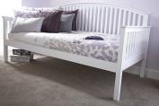 Madrid Day Bed - Frame Only - White