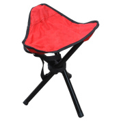 suyi Lightweight Portable Folding Tripod/Triangular Camp Stool Chair With 3 Legs Children High Chair ,for Camping Hiking Fishing Beach Picnic Stalls Dedicated