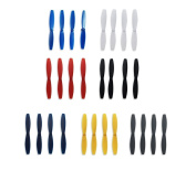 Rantow 7 Colours Durable Propeller Props Blades Combo for Parrot Rolling Spider / Airborne Cargo Drone / Airborne Night Drone / Hydrofoil Drone / Mambo Drone / Swing Drone