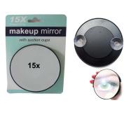 Ardisle Compact 15x Magnifying Glass Makeup Cosmetic Mirror Tweezing Beauty Handbag Zoom