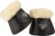Le Mieux Lamb Skin Wrap Round-Over Reach Boots
