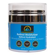 My-Organic-Zone Retinol-Cream, Best-Face-Moisturiser & Skin-Hydrator, Anti-Ageing, Anti-Wrinkle Moisturising-Face-Lotion, Helps-With-Dry-Skin or Sensitive-Skin, Tinted-Eye-Cream
