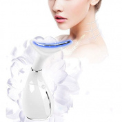 MBS LED Neck Care Chin Wrinkle Removal Skin Lifting Rejuvenation Massage Machine