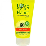 Love Your Planet Orange Hand Cream Pack of 6 x 75 ml)