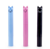 Kikkerland Cat Lip Balm Assorted Colour & Flavour SPF15