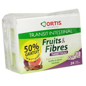Ortis Fruits & Fibres ORTIS Transit Easy Pack of 24 Cubes