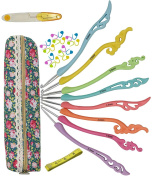 Hz.Codelo Crochet Hooks Set, Comfort Grip Crochet Knitting Needles Knit Kit With Case