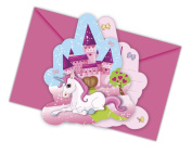 Unicorn Die-cut Invitations & Envelopes