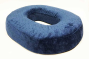 Aquarius Memory Foam Donut Ring Cushion Reduces Pressure Ideal for Hemorrhoid Suffers, Coccyx Pain, Post Natal and Post Surgery