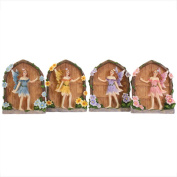 Beautiful Miniature Sparkle Fairy Doors Home and Garden Ornament