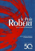 Le Petit Robert : Dictionnaire de la Langue Francaise - Blue edition