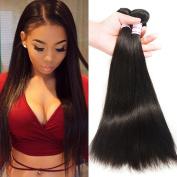 Brazilian Virgin Hair Straight Human Hair Extensions 3 Bundles Deals Natural Colour Straight Virgin Hair 100g/pcs 3Pcs Straight Brazilian Hair