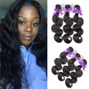 Grace Length Hair 8A Malaysian Body Wave 3 Bundles Natural Colour Malaysian Hair Weave Bundles 100% Unprocessed Malaysian Virgin Hair Body Wave Human Hair Extensions Good Quality
