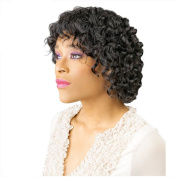 Finders Afro Kinky Wigs Short Curly Black Wigs High Resistant Synthetic Wigs For Women 12Inch