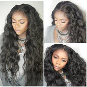 Helene Hair 2016 Hot Hair Natural Wave Wig Brazilian Virgin Hair Human Hair Lace Front Wigs With Baby Hair 150% Density