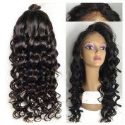 Kerrywigs Grade 7A Malaysian Hair Wavy Full Lace Human Hair Wigs Body Wave Glueless Lace Front Wigs Baby Hair For Black Women 130 Density
