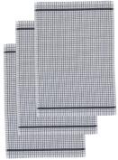 Poli Dri Premium Quality Kitchen Tea Towels by Lamont, CHARCOAL GREY, 3 Pack