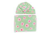 Niuniu Daddy Newborn Swaddle Blanket with Hat Set Baby Photo Prop Receiving Blankets