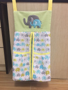 Baby Elephant Crib Set nappy stacker