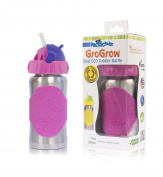 Pacific Baby GroGrow Stainless Steel Eco Friendly Toddler Bottle BPA Free 380ml