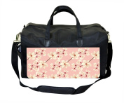 Magnolia Flowers on Light Pink Print Nappy Bag
