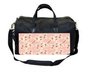 Magnolia Flowers on Light Pink Print Nappy Bag