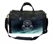 Dreamcatcher on Blue Galaxy Print Nappy Bag