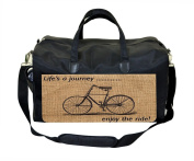 Life's a Journey Print Nappy Bag