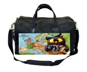 Travel Owl Print Nappy Bag