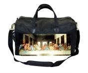 The Last Supper Painting-15th Century Milan-Leonardo da Vinci-The Monastery of Santa Maria delle Grazie Nappy Bag