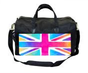Coloured British Flag Print Nappy Bag