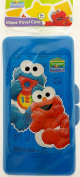 Sesame Street Blue Baby Elmo and Cookie Monster Baby Wipes Case