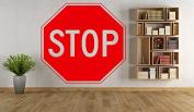 Wall Vinyl Sticker Decals Mural Room Design Pattern Art Decor Stop Sign Modern mi514