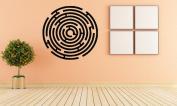 Wall Vinyl Sticker Decals Mural Room Design Pattern Art Decor Maze Ornament Modern Abstract mi495
