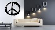 Wall Vinyl Sticker Decals Mural Room Design Pattern Art Decor Peace Love Sign Modern mi488