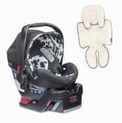 Britax B-Safe 35 Elite Infant Car Seat & Support Pillow, Cowmooflage
