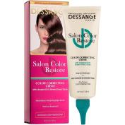 Dessange Salon Colour Restore Colour Protect System Colour Correcting Creme for Brown Hair, 4.2 Fluid Ounce