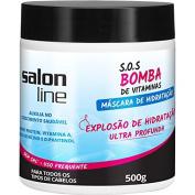 Linha Tratamento (SOS Bomba de Vitaminas) Salon Line - Mascara Explosao De Hidratacao 500 Gr - (Salon Line Treatment