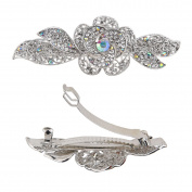 Crystal Wedding Hair Pins Flower Hair Clips Hair Barrettes for Women