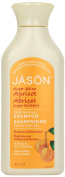 Jason Natural Products Super Shine Apricot Shampoo, 473mL
